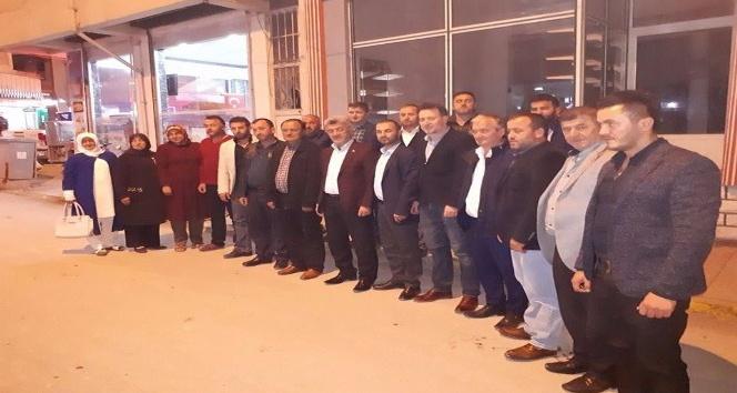 Başkan Yiğit, AK Parti yönetimle bir araya geldi