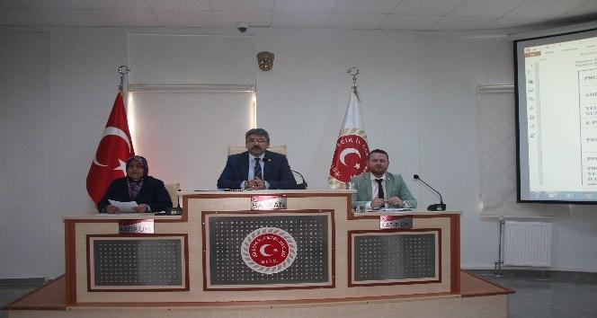 İl Genel Meclisi Ekim Ayı 4'üncü birleşimi yapıldı