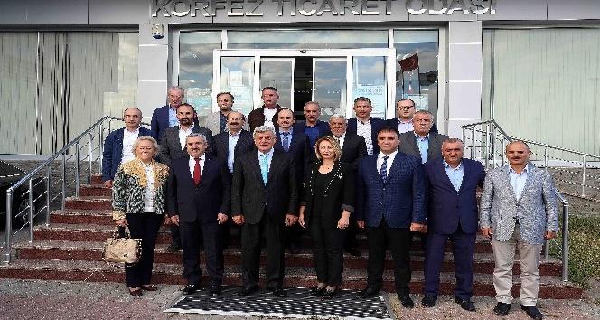 Başkan Karaosmanoğlu'ndan KTO'ya ziyaret