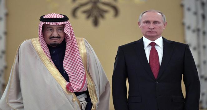 İlk kez bir Suudi Kral Rusyada