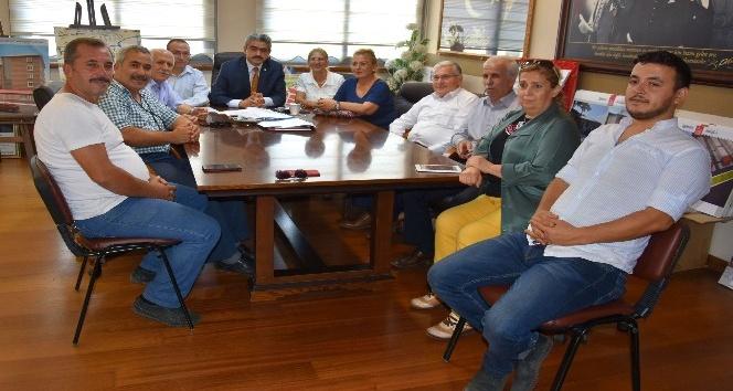 Nazilli Kent Konseyi, Başkan Alıcık'ı ziyaret etti