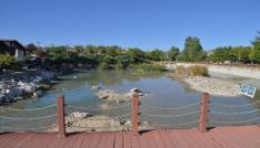 Suyunu kaybeden Hılla Gölüne su gelmeye başladı