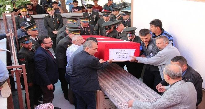 Piyade Uzman Çavuş Ömer Doğan, Karaman'da son yolculuğunu uğurlandı
