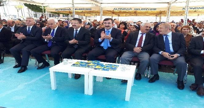 Altındağ'da 5 büyük parkın açılışı yapıldı