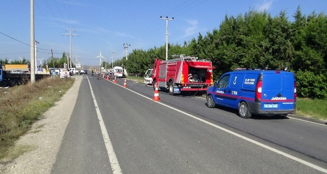 Silivri'de feci kaza :2 ölü