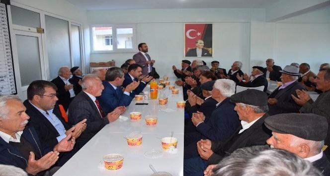 Reşadiye'de halk günü toplantısı iki köyde yapıldı