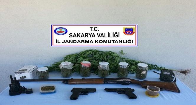 Sakarya'da 480 gram esrar ele geçirildi