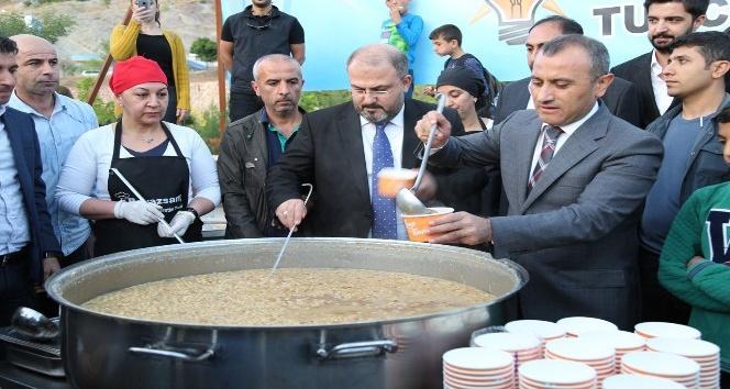 Tunceli'de aşure günü etkinlikleri