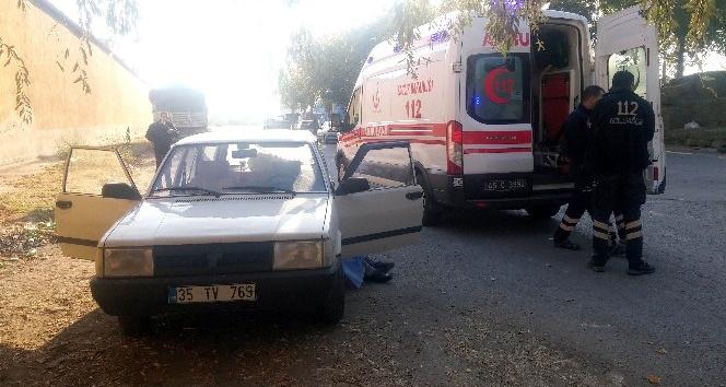Otomobilde şüpheli ölüm