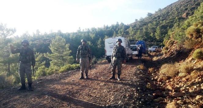 Etkisiz hale getirilen PKK'lı hainler buluşmayı planlamış