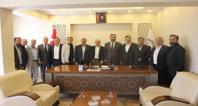 Camiler ve Din Görevlileri Haftası dolayısıyla Müftü Karabayır'ı ziyaret ettiler