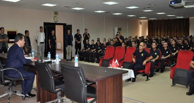 Yeldan'dan polis okulu öğrencilerine konferans