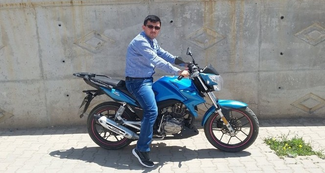 Çalınana motosikletini bulana 1000 TL ödül verecek