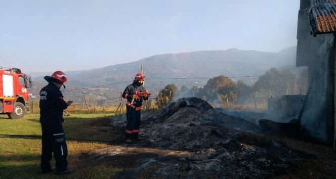 Atölye yangını korkuttu
