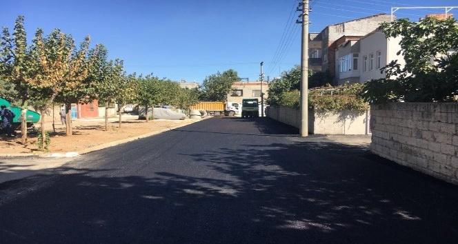Malazgirt Mahallesinde asfalt çalışması yapıldı