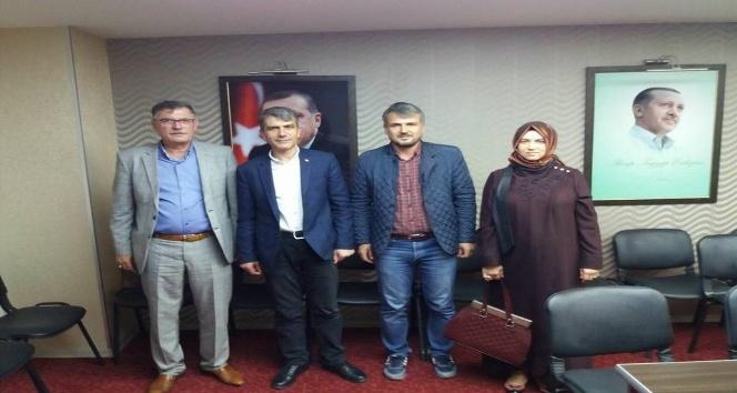 Başkan Duymuş'tan AK Parti Merkez İlçe Başkanı Öztürk'e ziyaret