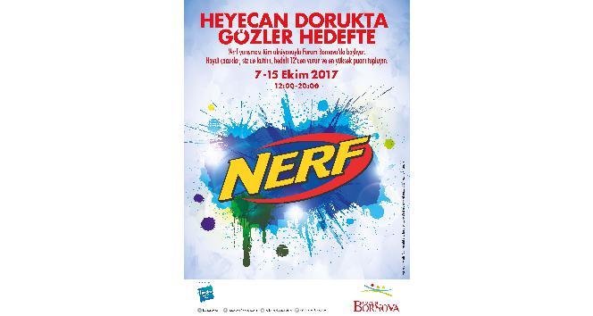 Forum Bornova'da Nerf ile kapışma heyecanı