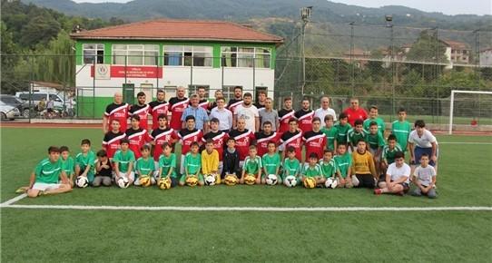 Başkan Yiğit'ten spora destek