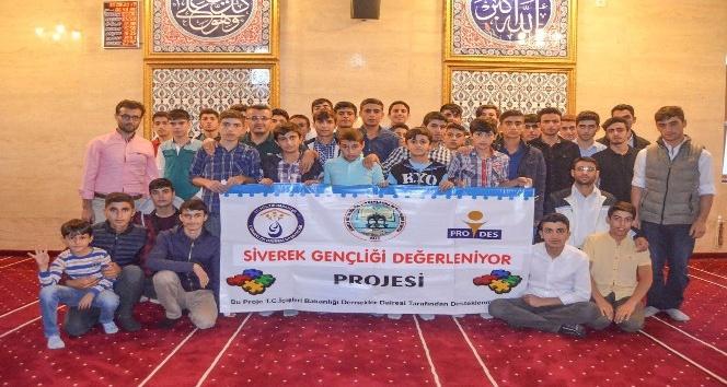 Siverek'te lise Öğrencilerine Kapadokya Gezisi