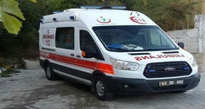 Şaphane'ye ambulans