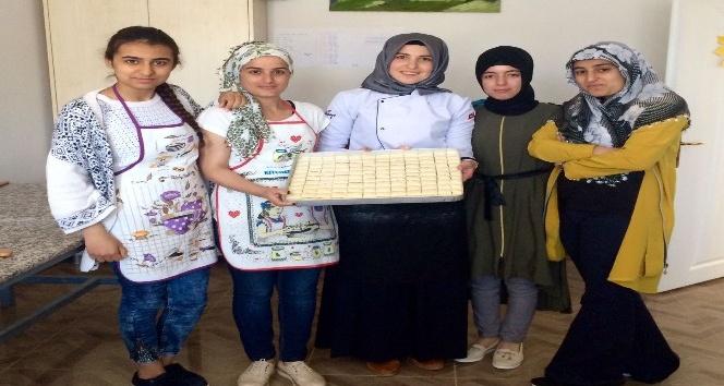 Hani'de geleceğin aşçıları yetişiyor