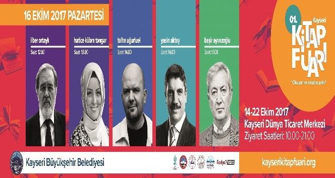 Ünlü yazarlar Kayseri'de buluşuyor