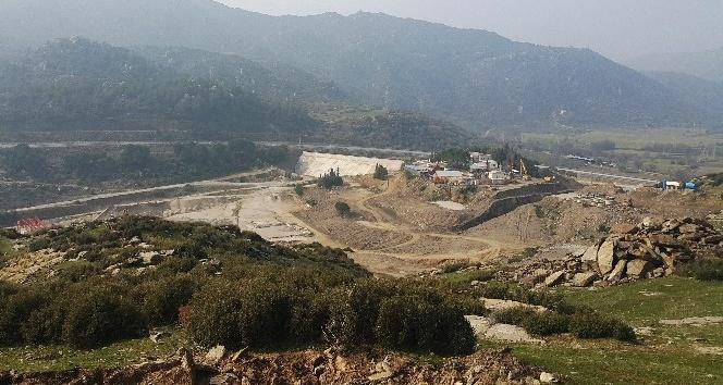Gökbel Barajı 210 bin dekar zirai araziye can verecek