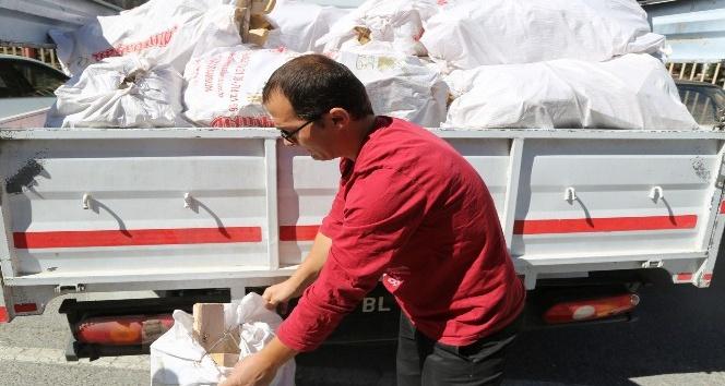 Niğde Belediyesi'nden bin aileye odun yardımı