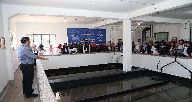 Öğrenciler MESKİ Filtre Müzesi'ni ziyaret etti