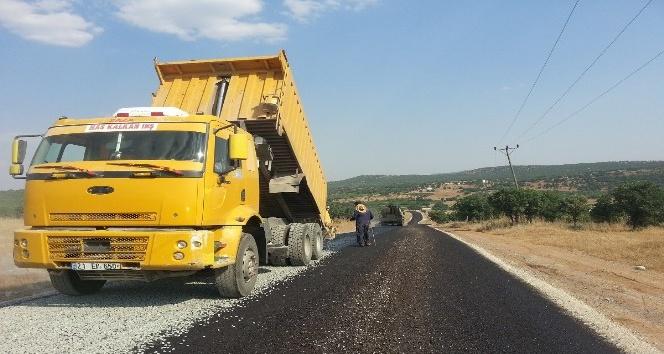 Kulp'ta asfalt çalışması başladı