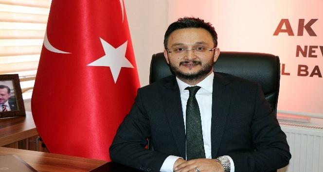 """AK Parti İl Başkanı Yanar, """"Çiçek değil Arakan için bağış yapın"""" dedi"""