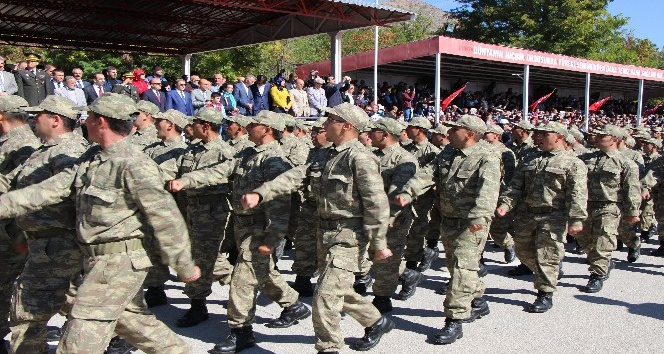 Amasya'da 4 bin 500 Mehmetçik yemin etti