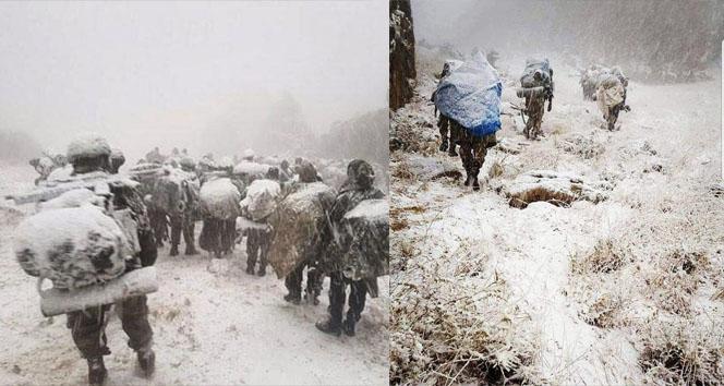 Kato Dağında göz gözü görmüyor |Mehmetçik, kar tipi demiyor