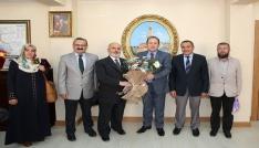 Vali Pehlivan, Camiler Haftası dolayısıyla ziyaretine gelen heyeti kabul etti