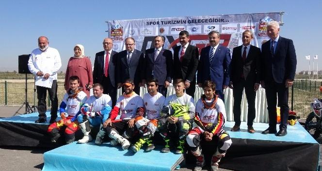 Bakan Eroğlu, 2018 Dünya Motokros Şampiyonası tanıtım toplantısına katıldı