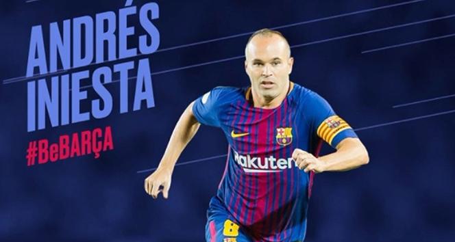 Barcelonadan Iniestaya ömürlük sözleşme