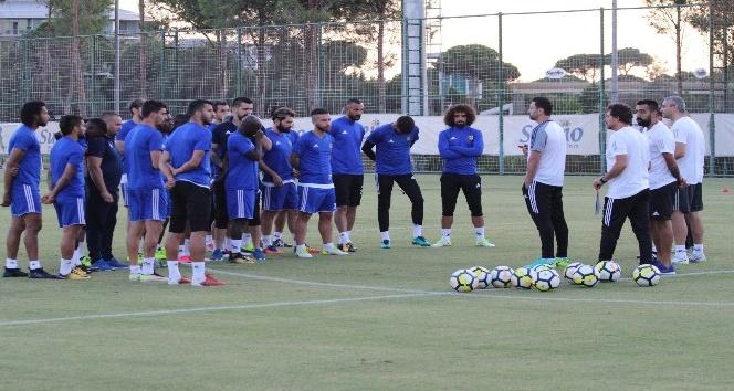 E. Yeni Malatyaspor'un Fenerbahçe maçı hazırlıkları sürüyor