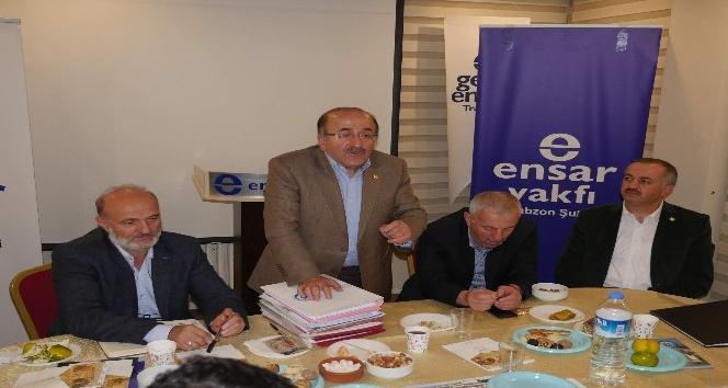 Trabzon Sivil İnsiyatif Platformu üyeleri ile buluştu