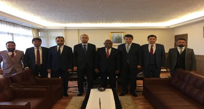 MÜSİAD Konya Şubesi'nden Afrika Büyükelçilere ziyaret