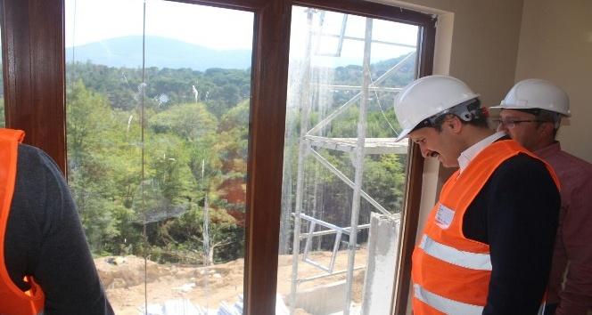 Başkan Demiraslan, TOKİ projelerini inceledi