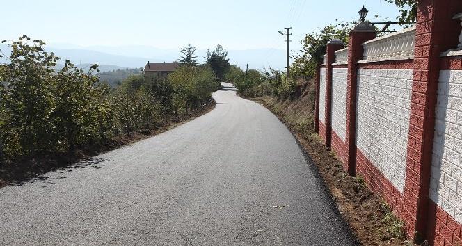 Güldibi Mahallesi'nde yollar yenilendi