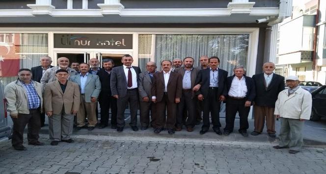 Daday'da emekli imamlar kahvaltıda buluştu