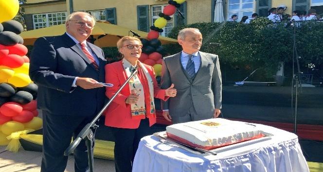 Başkent'te Alman Birliği Günü Resepsiyonu gerçekleştirildi