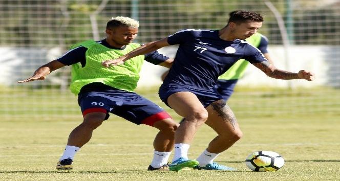 Antalyaspor'da Göztepe maçı hazırlıkları sürüyor