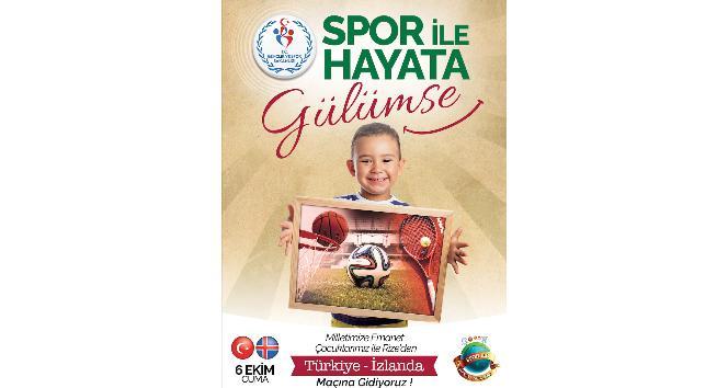 """Gençlik ve Spor Bakanlığı'ndan yeni proje: """"Spor ile hayata gülümse"""