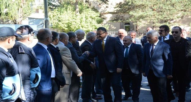 Vali Harun Sarıfakıoğulları Şebinkarahisar ilçesinde incelemelerde bulundu