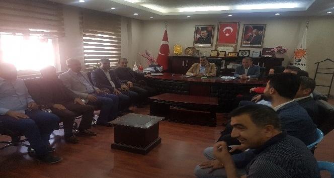 Yıldırım'dan AK Parti Mardin Teşkilatı'na ziyaret