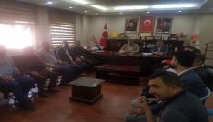 Yıldırımdan AK Parti Mardin Teşkilatına ziyaret
