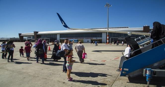 Eylül ayında Erzurum Havalimanı'nda 131 bin 434 yolcuya hizmet verildi
