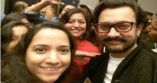 Aamir Khan İstanbulda yaşayan Hintlilerle buluştu